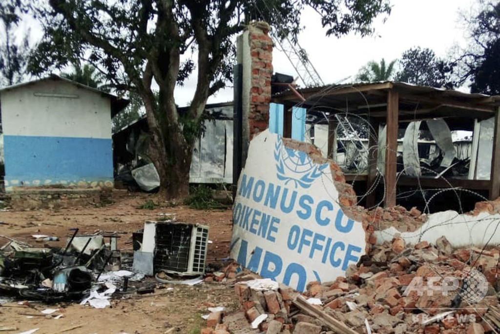 武装勢力構成員と疑われた2人、群衆にリンチされ死亡 コンゴ