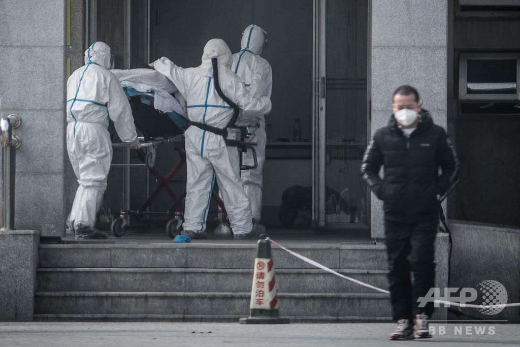 新型コロナウイルス、人から人への感染を確認 中国