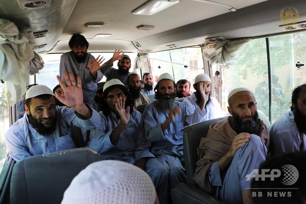 アフガニスタン当局、タリバン捕虜2000人近くを解放 停戦延長を呼び掛け