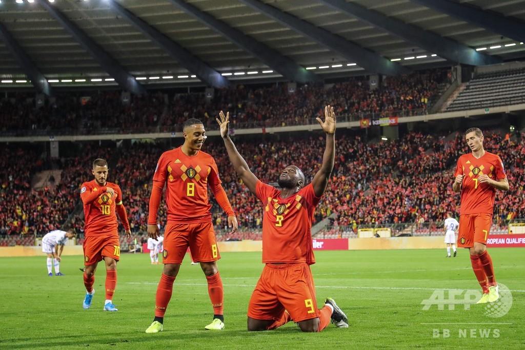 9発大勝のベルギーが本戦へ、オランダは首位浮上 欧州選手権予選