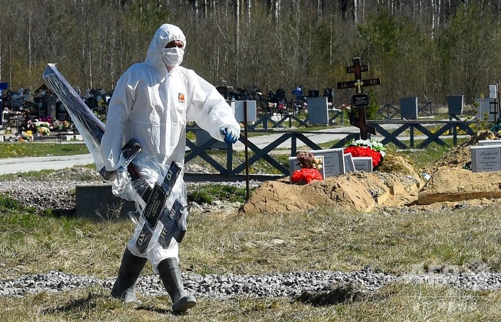 ロシアの新型ウイルス感染者数、20万人超える