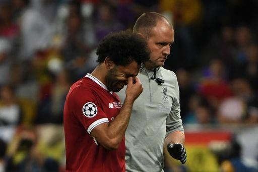 サラーが欧州CL決勝で涙の負傷交代、W杯に影響を及ぼす可能性も