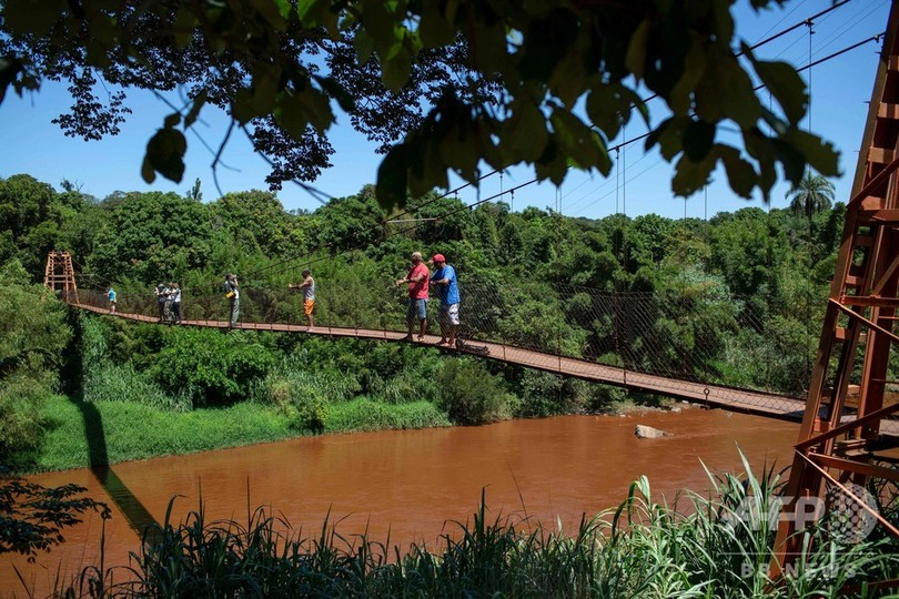 ブラジルの鉱山ダム決壊、周辺町村で河川汚染 死者は166人に