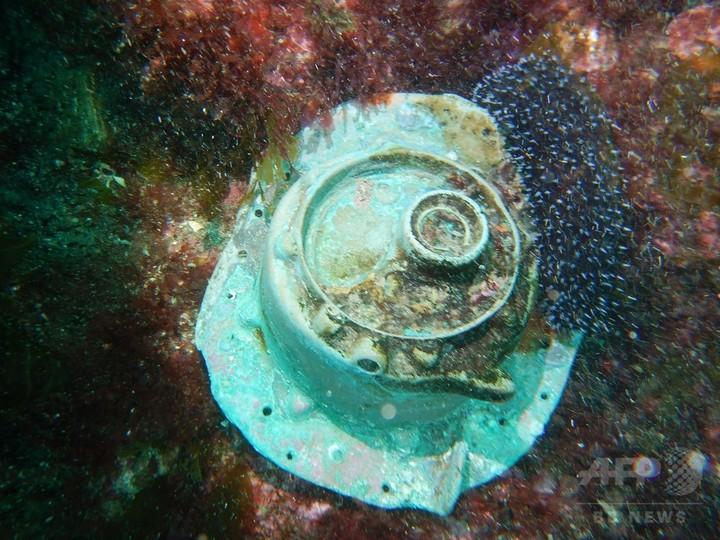 第2次大戦中に撃沈されたUボートの残骸か、スペイン沖で発見