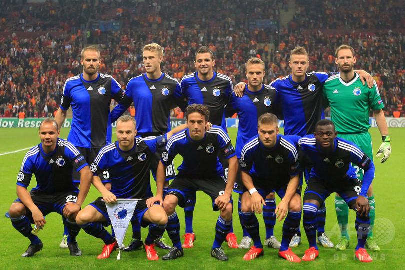 FCコペンハーゲン、欧州CLの試合...