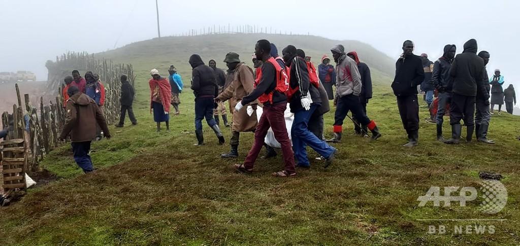 アフリカ東部で豪雨、少なくとも39人死亡 複数国で被害