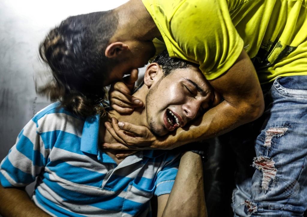 イスラエル、ガザ地区に空爆 「ハマスに2014年以降最大の攻撃」