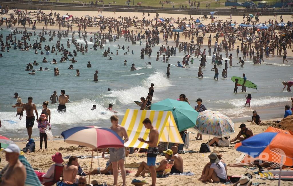 オーストラリア熱波、各地で記録的な暑さ 49.3度記録した町も