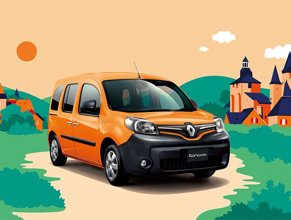 人気のオレンジが復活。ルノー・カングーに今年4つ目の限定車登場!