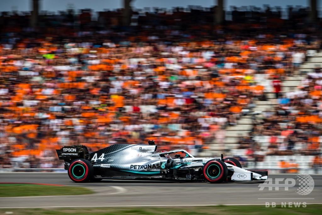 ハミルトンがポール獲得、フェラーリは散々な予選に ドイツGP