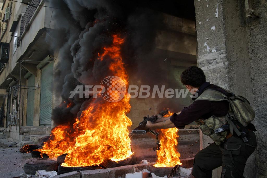 フランス、シリア国民連合を承認 武器供与の検討も