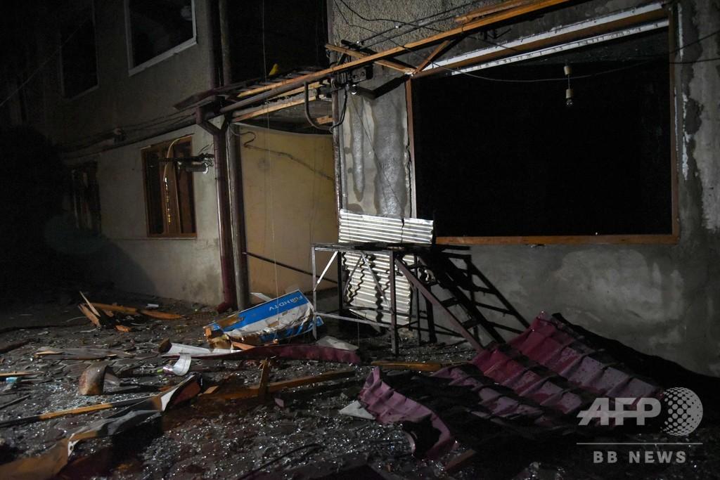 アゼルバイジャンが係争地主要都市を砲撃、アルメニアが非難