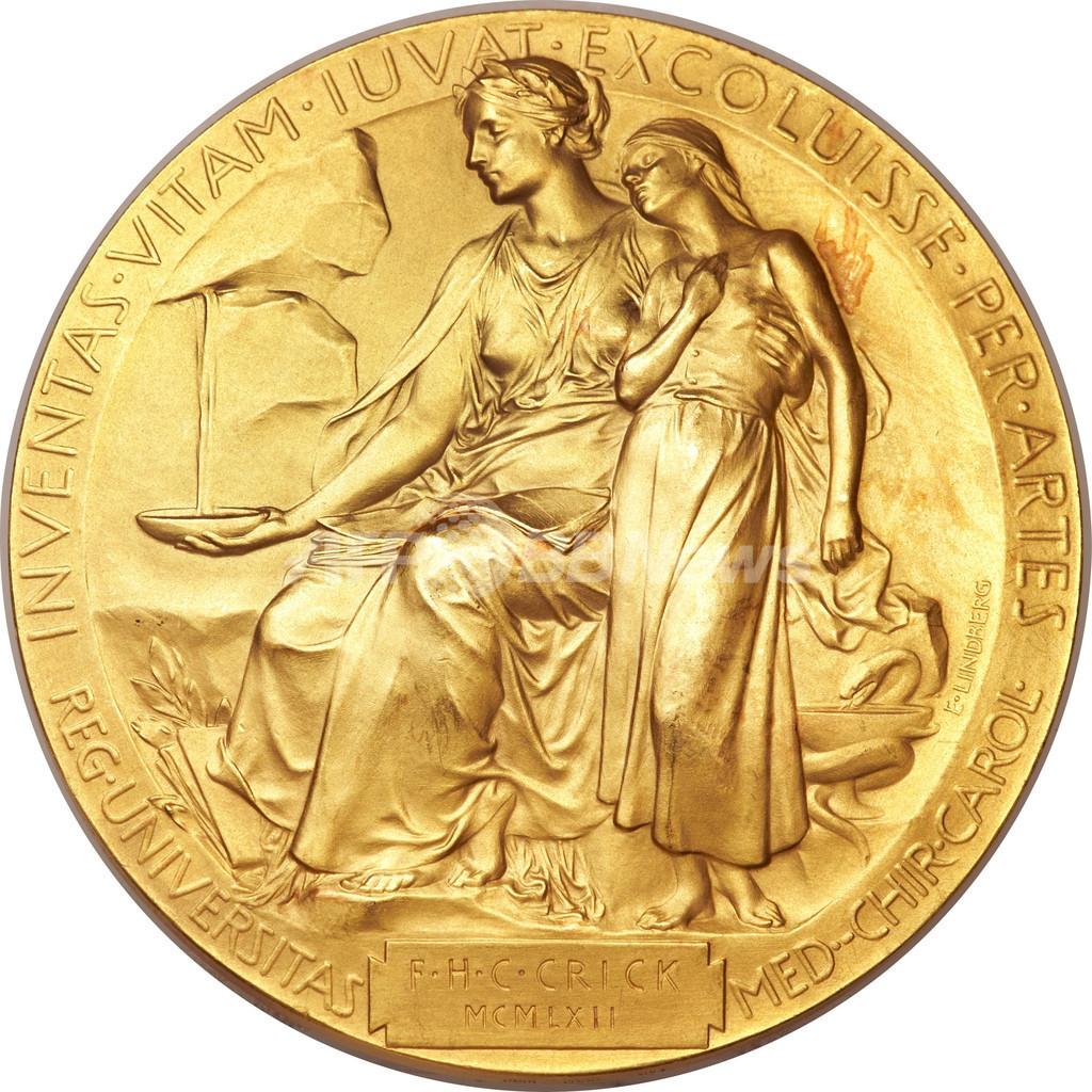DNA構造発見のノーベル賞メダルが2億円で落札、米NY