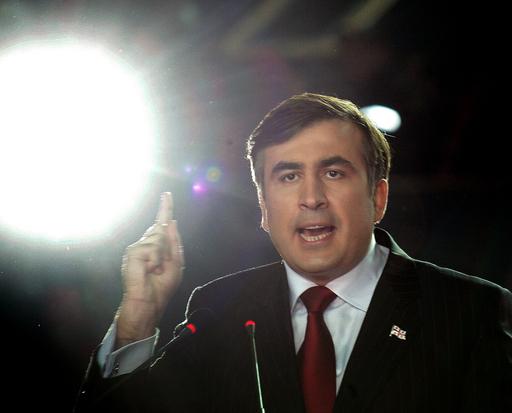 グルジアで繰り上げ大統領選 サーカシビリ前大統領が優勢
