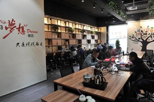カフェより落ち着く「移動型オフィス」 中国で若者の新たなニーズに