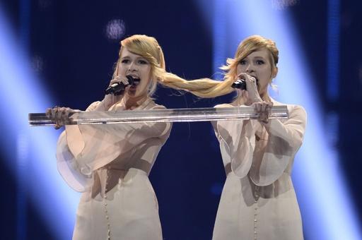 欧州歌謡祭ユーロビジョン決勝、各国代表が熱唱