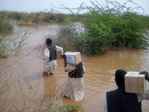 スーダン洪水で32万人が被災、WHO報告