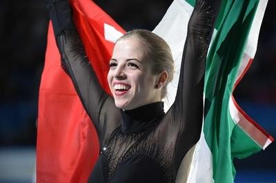 フィギュア女子シングルで3位のコストナー、ソチ五輪
