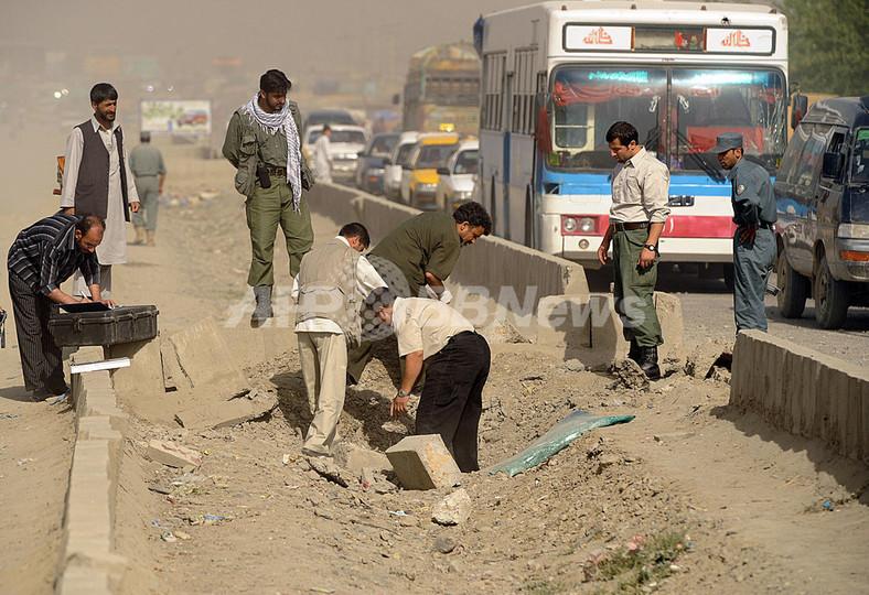 アフガニスタンで遠隔操作の爆弾が爆発、女性1人死亡