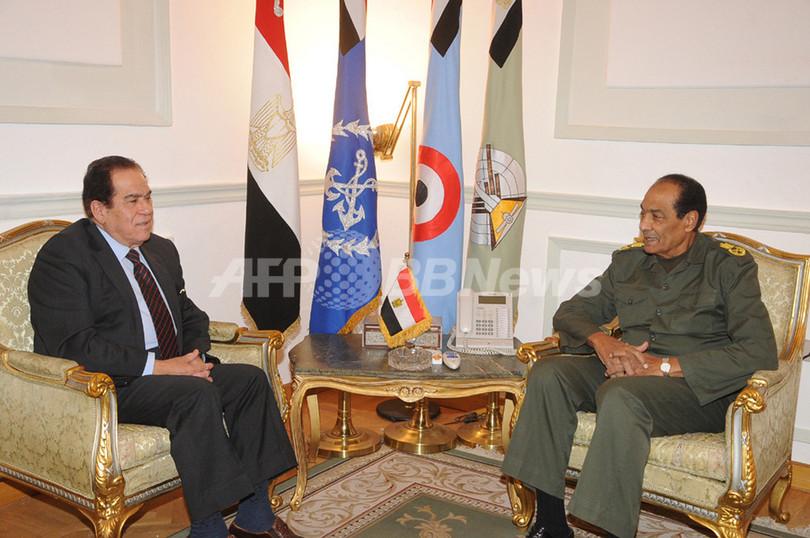 エジプト軍最高評議会、ガンズーリ元首相に組閣要請
