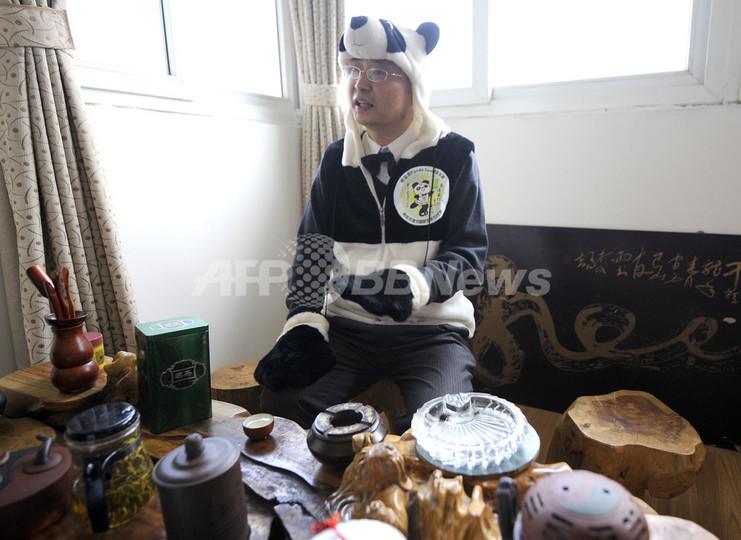 パンダの「ふん」で世界一高価な茶を、中国起業家の挑戦