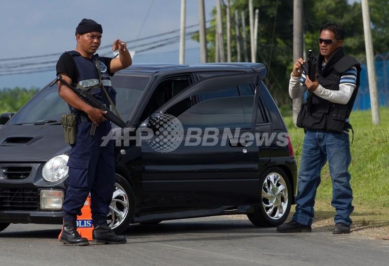 ボルネオ島で警官を奇襲、7人死亡 立てこもり事件と関係か