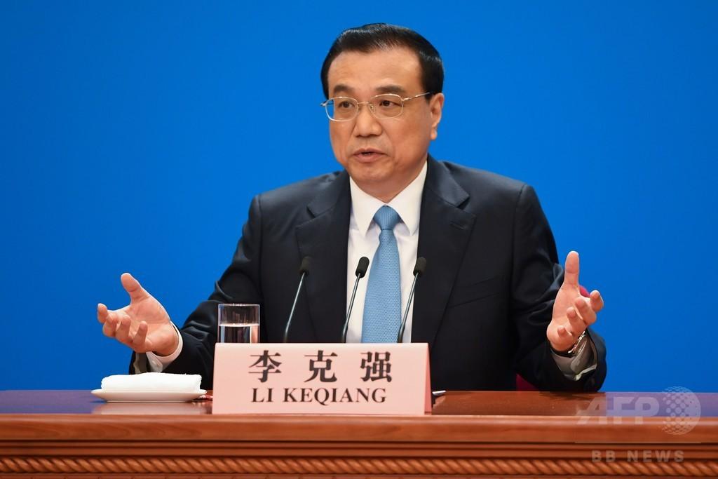 米国は「感情的」な行動控えるべき、中国首相 貿易戦争回避求める