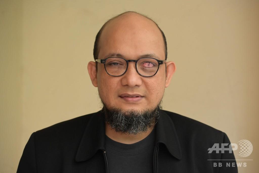 汚職捜査官に酸攻撃、実行犯の警官らに禁錮刑 インドネシア