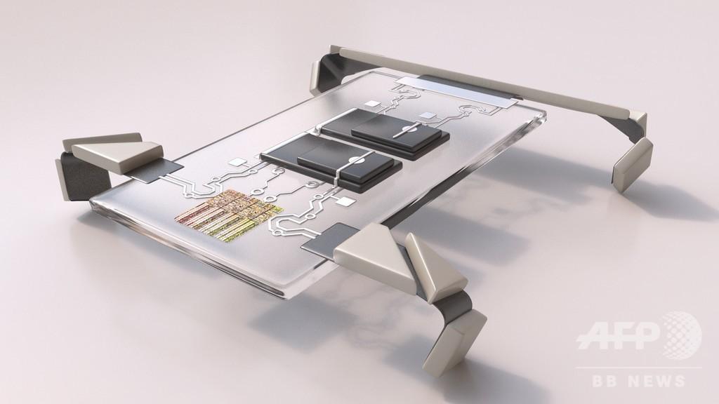 極小四足歩行ロボットを大量作製 皮下注射で体内に注入可能 米研究