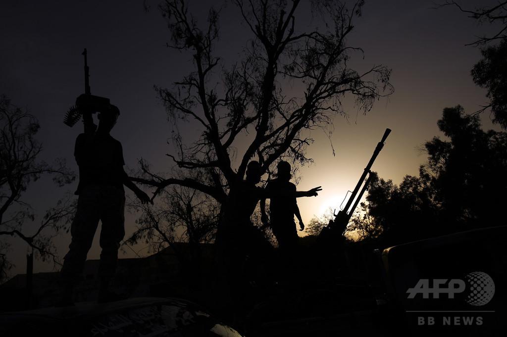 「リビア国民軍」、過激派との戦闘で6月に民兵44人死亡