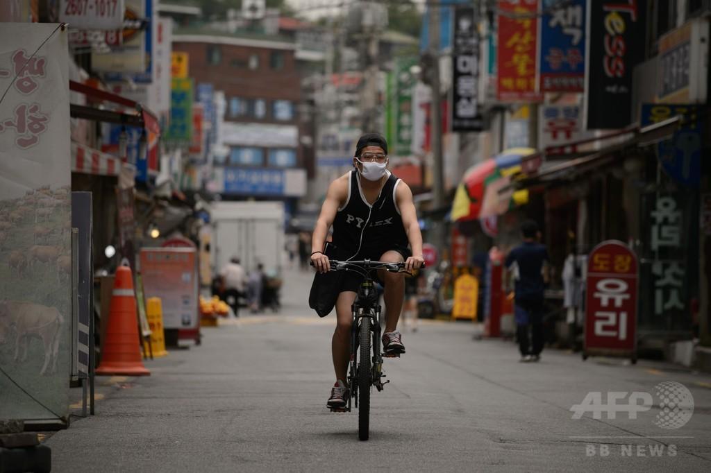 韓国MERS、過去24時間で新たな死者と感染者はゼロ
