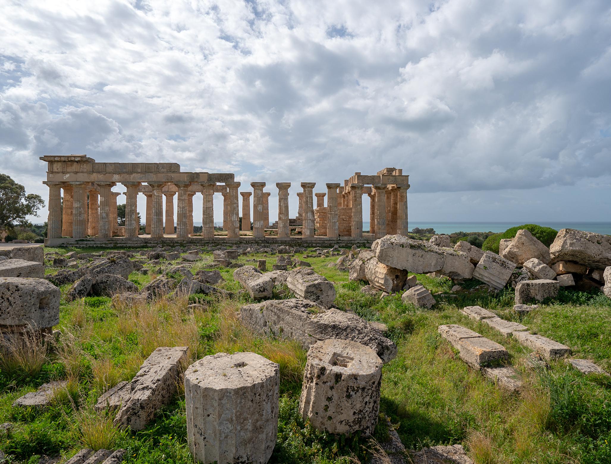 古代ギリシアにタイムスリップ!! セリヌンテ神殿/シチリア・ドライブ10