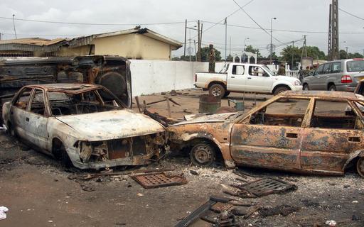 ガボン大統領選めぐり暴動、3人死亡