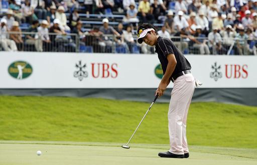 UBS日本ゴルフツアー選手権2008・初日 石川遼 80位タイと出遅れる