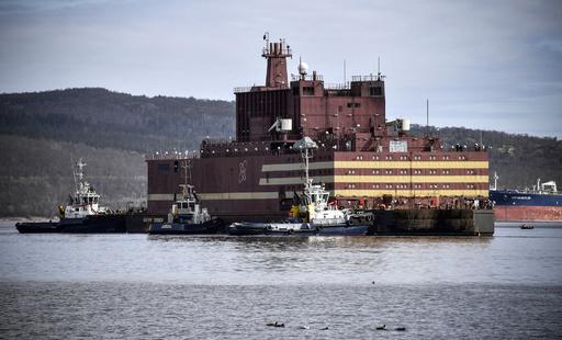 ロシア初の水上浮揚型原発、稼働地の極東まで5000キロの航海へ