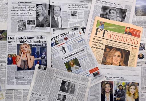 大統領の「不倫」に仏国民は興味なし?「真のファーストレディー」論争も