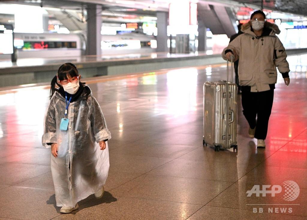 中国で新たに42人死亡、世界の死者数3000人超える 新型ウイルス