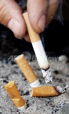 肺がん発見後の禁煙に効果あり、英バーミンガム大調査