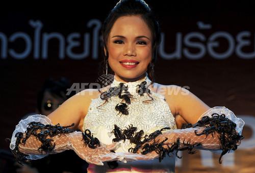 タイの「サソリ女王」、世界記録を更新 新たな挑戦も