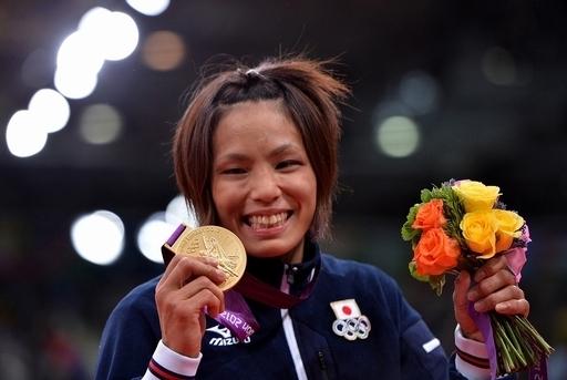 松本が金メダルを獲得、柔道女子57キロ級