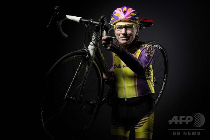「世界最高齢のサイクリスト」、106歳のフランス人男性が引退  [402859164]->画像>16枚