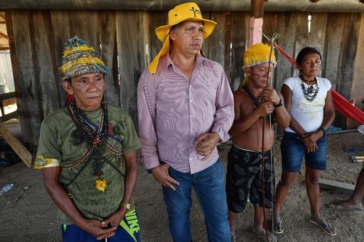 アマゾン先住民、金の小規模採掘の合法化求めてデモ ブラジル