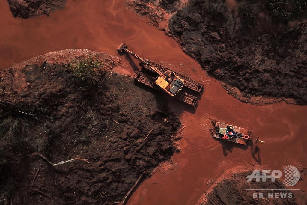 ブラジル南部で新たに鉱山ダム決壊の恐れ 周辺住民6000人が警戒