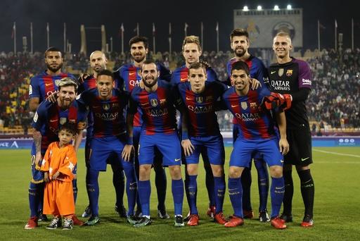バルセロナがカタールで親善試合、サウジアラビア王者に勝利