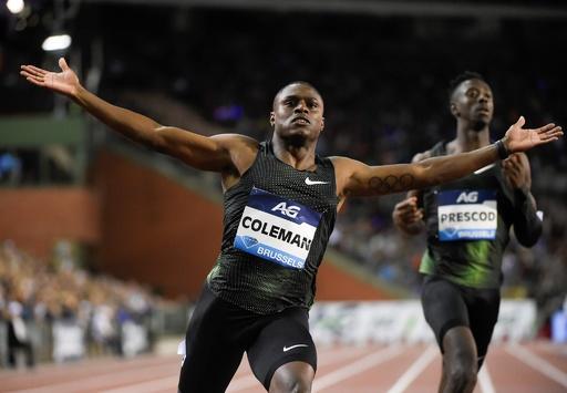 コールマン出場停止か、薬物検査3回受けず 陸上男子100mのスター