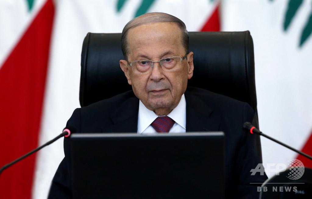 レバノン大統領、イスラエルとの和平の可能性に含み残す