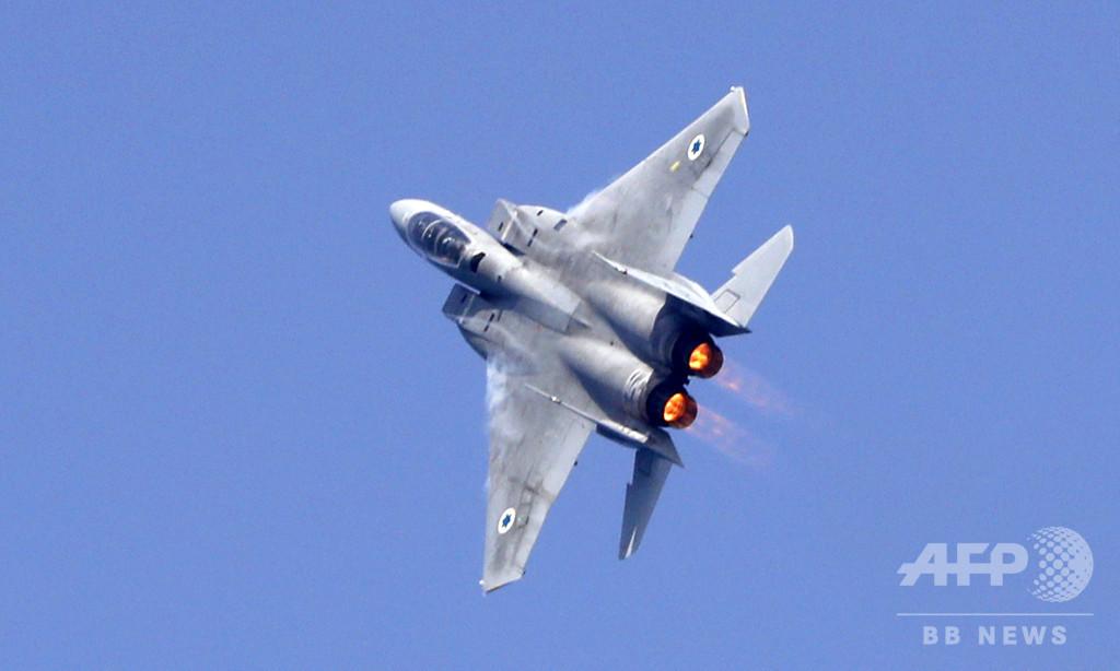 イスラエル戦闘機、高度9千mでキャノピー失うも無事着陸