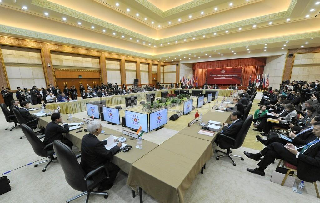 北朝鮮に核開発計画の中止求める ASEAN地域フォーラム