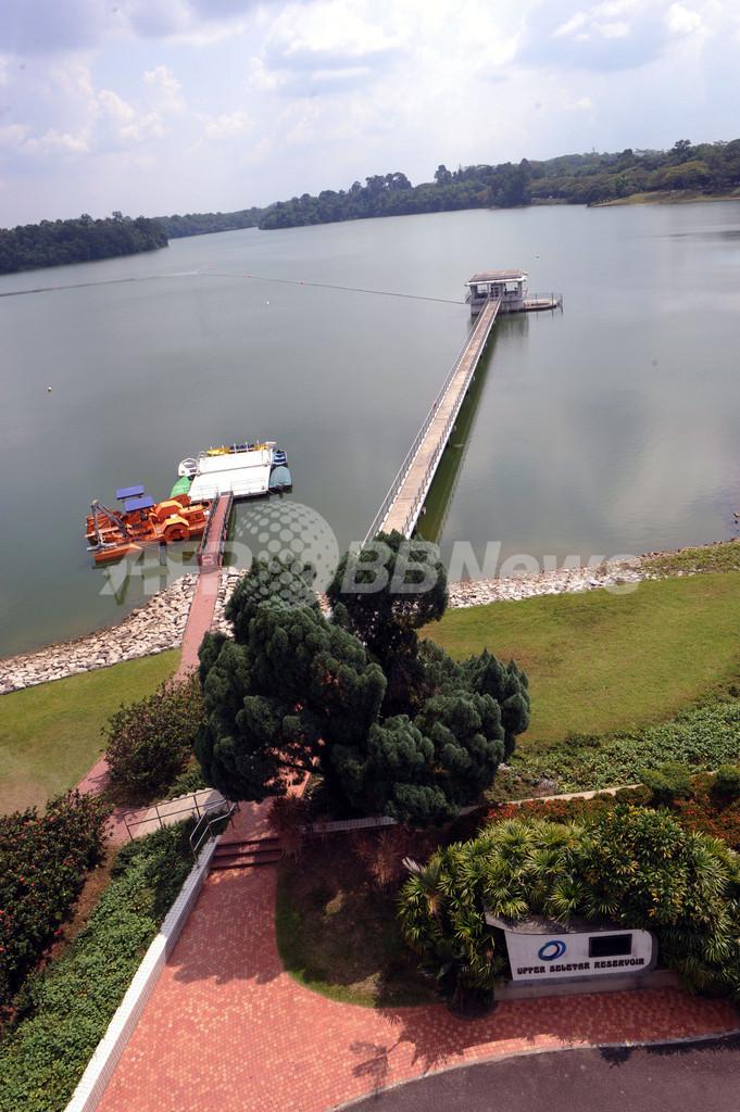 水源のないシンガポール、雨水還元システムで世界トップ目指す