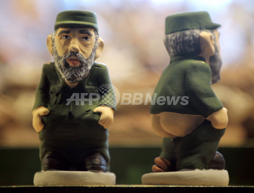 今年のクリスマスも登場、カタルーニャ伝統の「排便人形」 スペイン